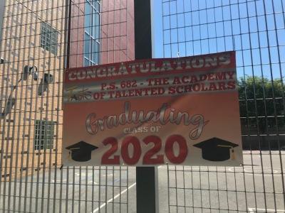 Banner for 2020 Graduates